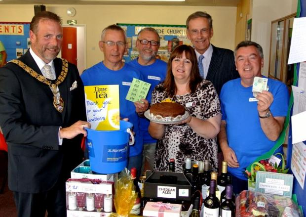 The event, which was held at the Baptist Hall in Burnham, raised £500