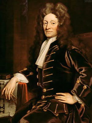 PAINTING:Sir Christopher Michael Wren by GODFREY KNELLER - COPYRIGHT © NATIONAL PORTRAIT GALLERY, LONDON