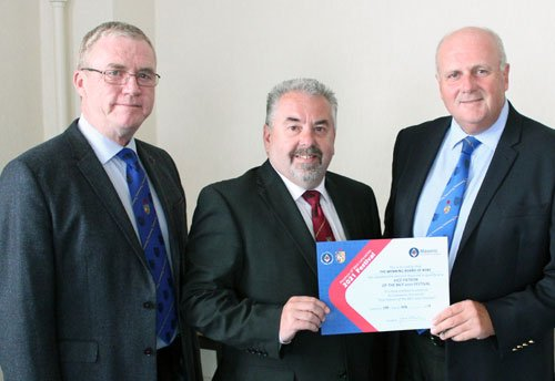 Pictured from left to right, are: Philip Preston, Chris Butterfield and David Winder.