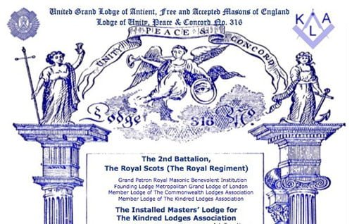 Summons cover of Lodge 316.