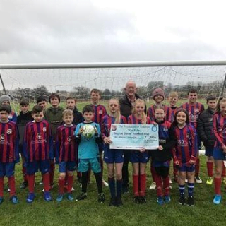 Freemasons help Skipton Juniors football club buy moveable goal posts